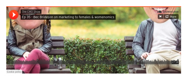 The CMO Show: Bec Brideson on Womenomics