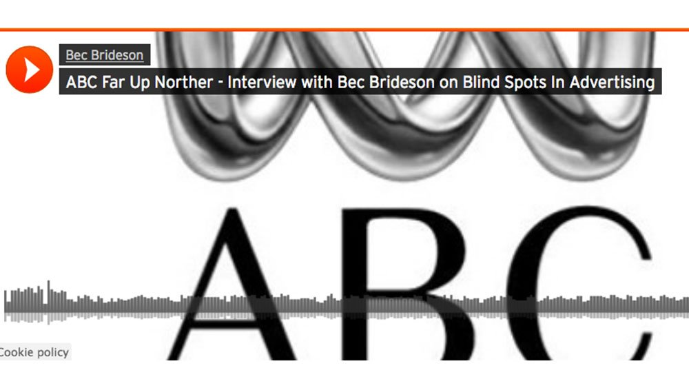 ABC RADIO FAR UP NORTH: Blind Spots