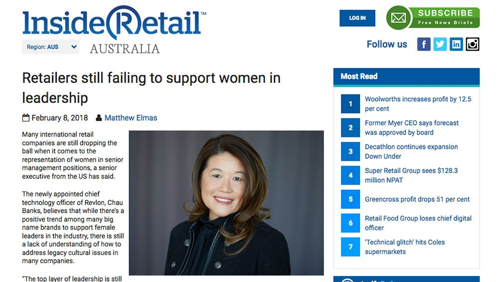 INSIDE RETAIL: Retailers still failing to support women in leadership